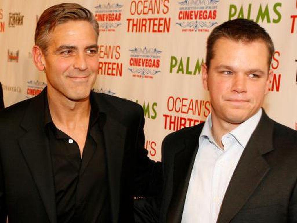 George Clooney Berusaha Tak Pernah Percaya pada Perilaku Harvey Weinstein