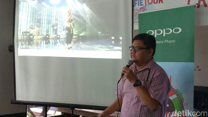 Aryo Meidianto, Media Engagement Oppo Indonesia. Foto: detikINET/Adi Fida Rahman