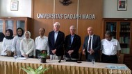 UGM Anugerahi Gelar Doktor Honoris Causa kepada Dua Peraih Nobel
