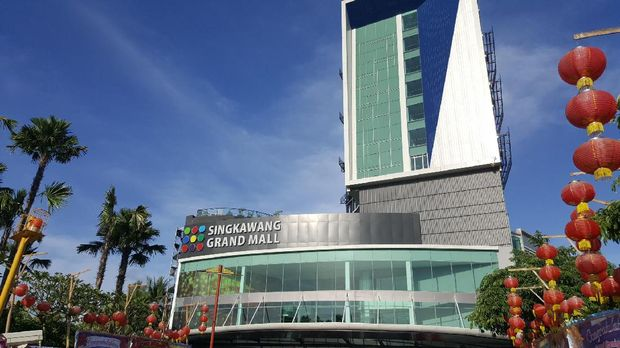 Singkawang Grand Mall dan Hotel Swiss Belinn Singkawang (Fitraya/detikTravel)