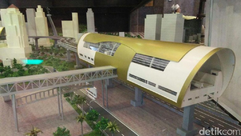 LRT Jabodetabek Bisa Ngebut 60 Km/ Jam, Waktu Tempuh 20-25 Menit ke Jakarta