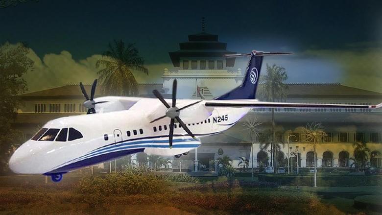 Bikin Pesawat N245, PTDI Masih Tunggu Investor
