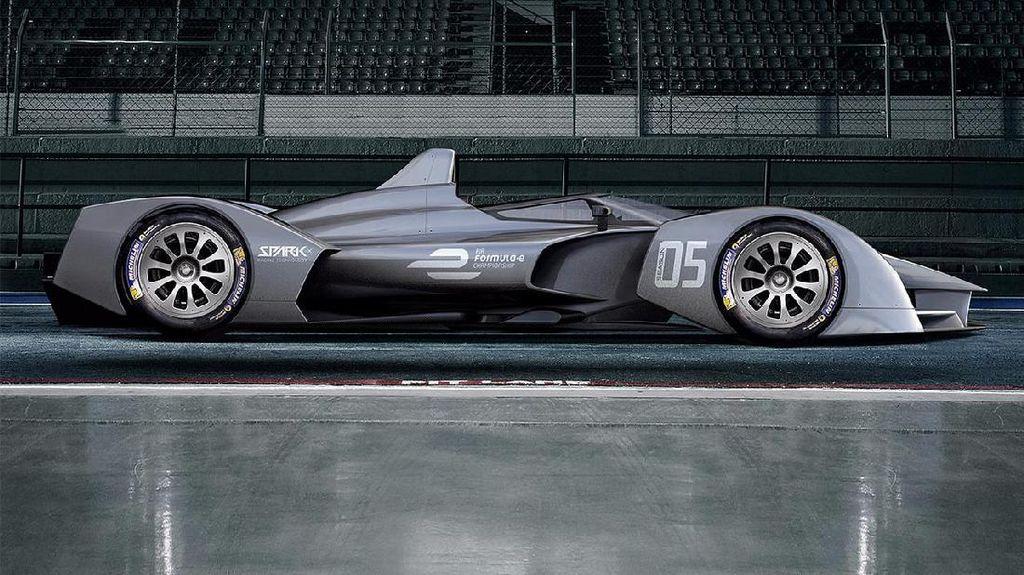 Inikah Tampang Masa Depan Mobil Balap Listrik Formula E?