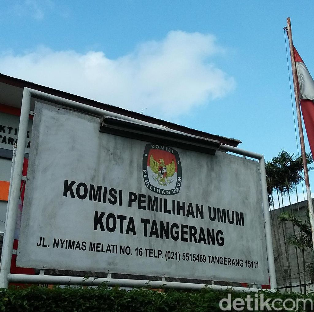 15 Parpol Terdaftar di KPUD Tangerang, 4 Ditolak Karena Terlambat