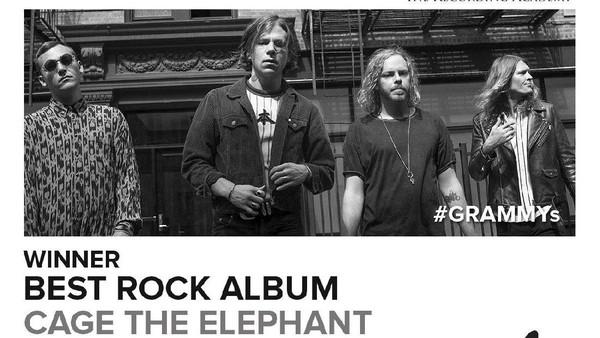 Singkirkan Blink-182, Cage the Elephant Jawara Best Rock Album