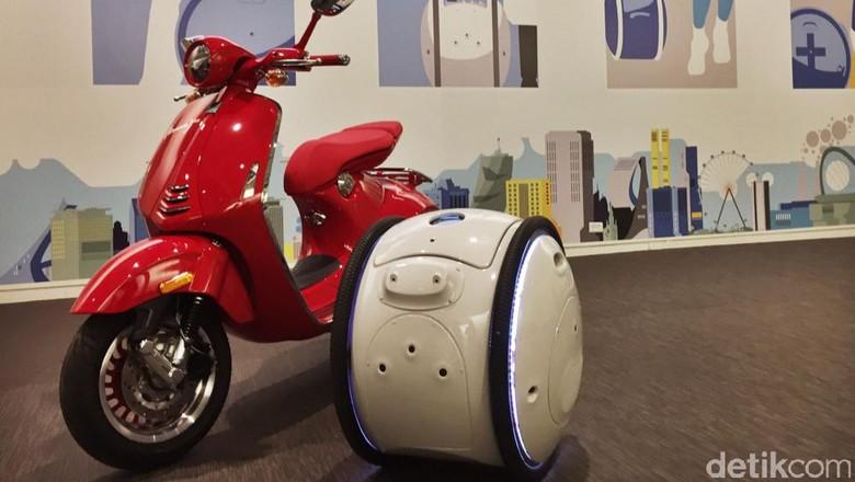 Gita dan Kilo, Robot Pembantu Manusia Ciptaan Piaggio