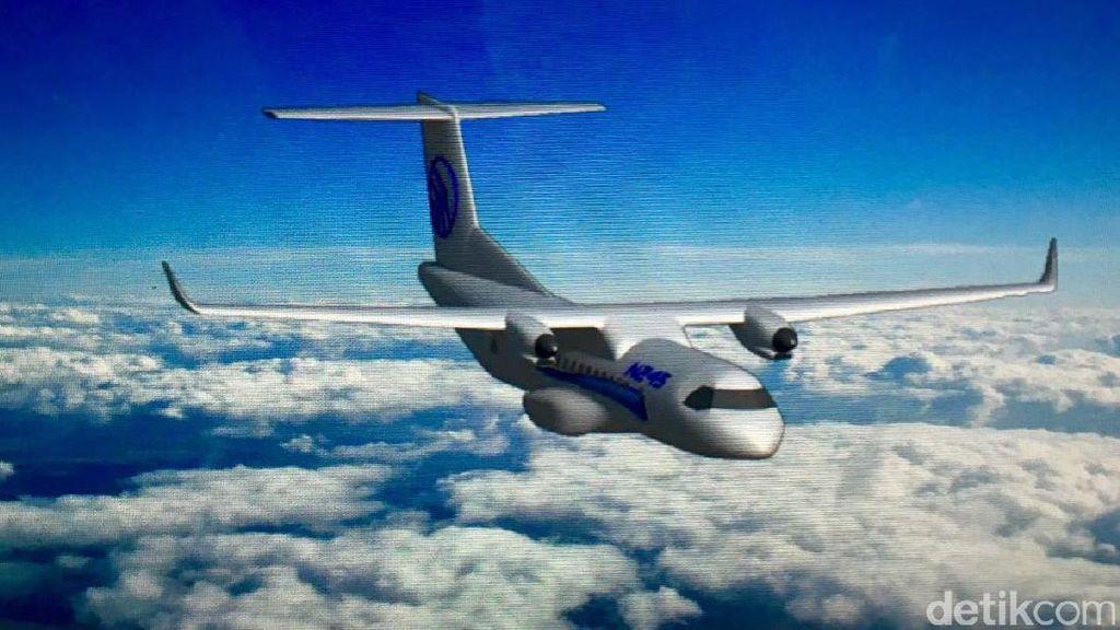 PTDI Rancang Pesawat N245 untuk Rute Penerbangan Jarak Pendek