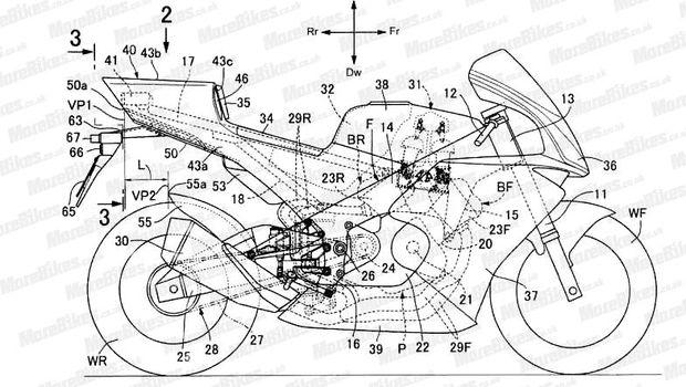 Paten motor Honda