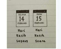 'Duel' Hari Valentine vs Pilkada Jadi Bahasan Netizen