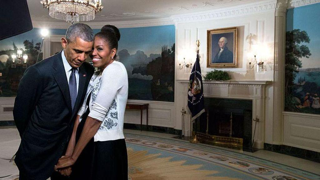 Barack dan Michelle Obama Tak Mau Selfie Lagi, Alasannya Menohok
