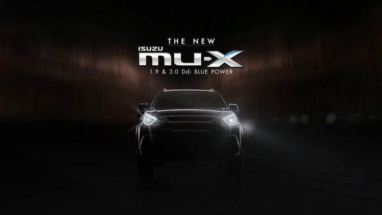 Isuzu Tebar Teaser MU-X Facelift
