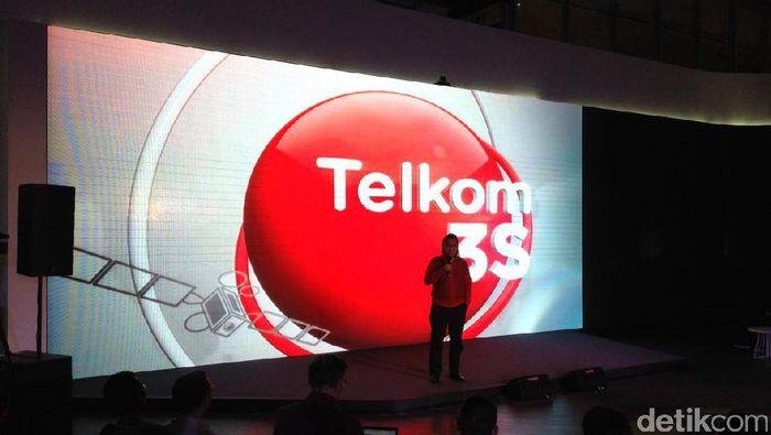 Foto: Satelit Telkom 3S (detikINET/Agus Tri Haryanto)