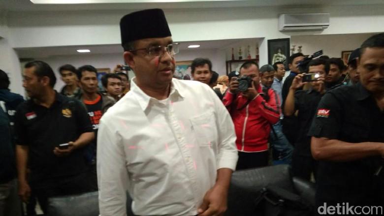 Soal Dukungan Parpol Lain, Anies: Gerindra dan PKS Pilar Kami