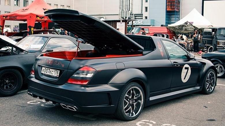 Duh, Mercedes-Benz S-Class Ini Dipotong Jadi Pikap