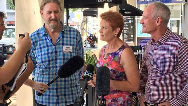 Ketua Partai di Australia Diusir Dari Mal Saat Konferensi Pers