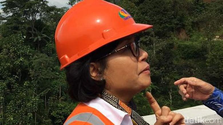 Tumben Menkeu Blusukan ke Jalan Tol, Ini Kata Sri Mulyani