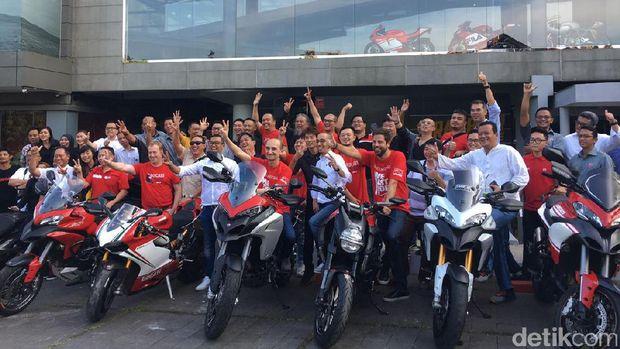 Untuk Pertama Kali, CEO Ducati Datangi Indonesia