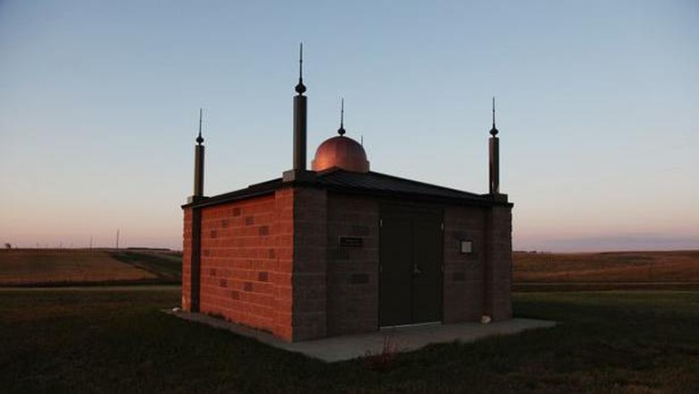 Foto: Masjid North Dakota, masjid pertama di AS (Revert To Islam/Facebook)