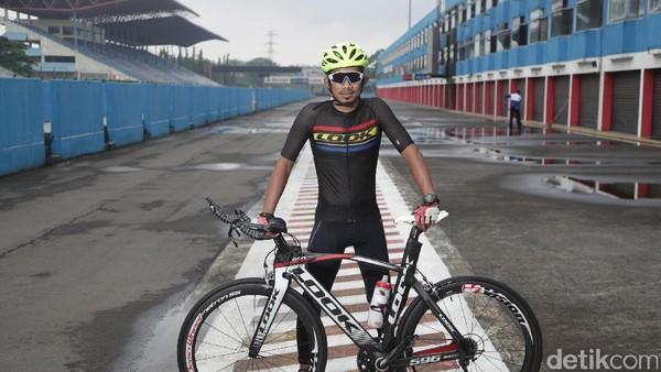 Melongok Aktivitas M. Fadli Jelang Kejuaraan Asia Balap Sepeda 2017