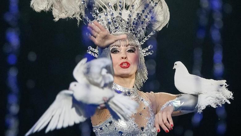 Melihat Keseruan Hewan-hewan Sirkus di Ukraina