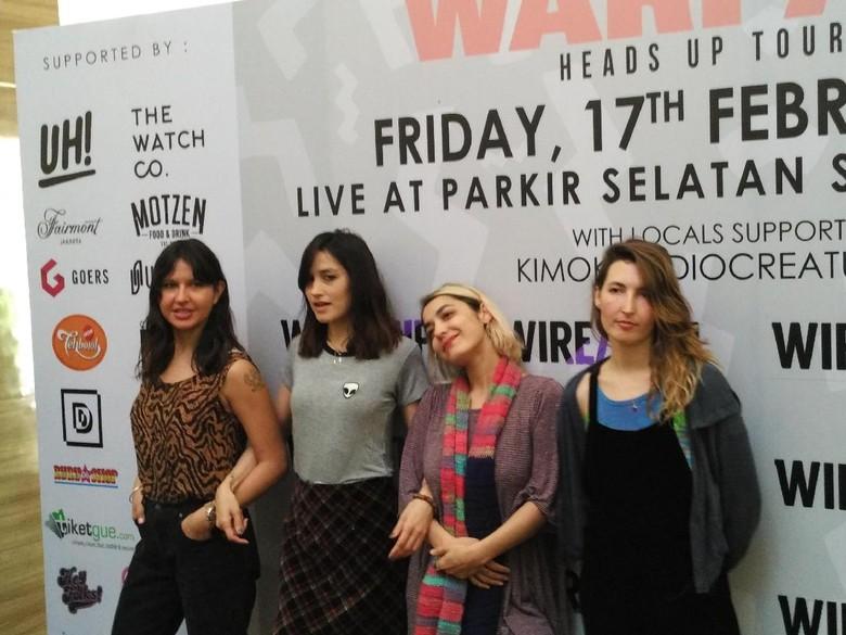 Malam ini! Warpaint Konser di Jakarta