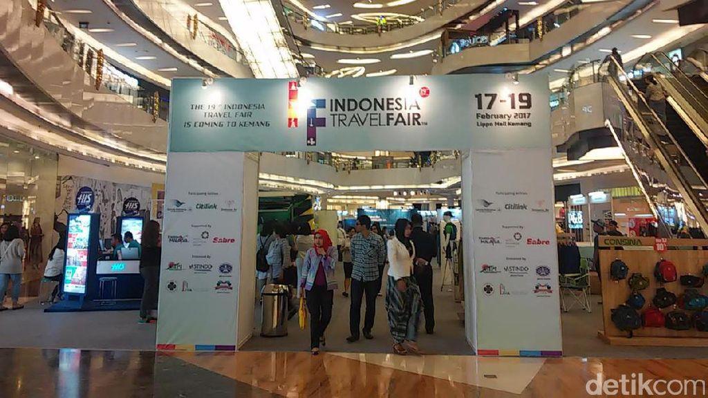 Mau Bulan Madu? Ada Paketnya di Indonesia Travel Fair