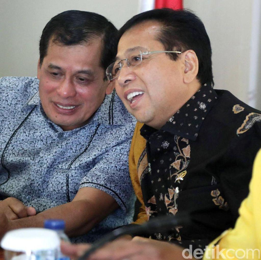 Nurdin Halid: Golkar Dikendalikan Ketua Harian dan Sekjen