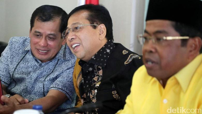 Nurdin Halid: Alhamdulillah Novanto dalam Keadaan Sehat