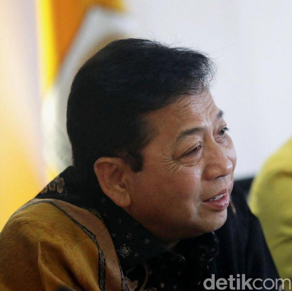 Idrus Diangkat Jadi Mensos, Setya Novanto: Terima Kasih Pak Jokowi