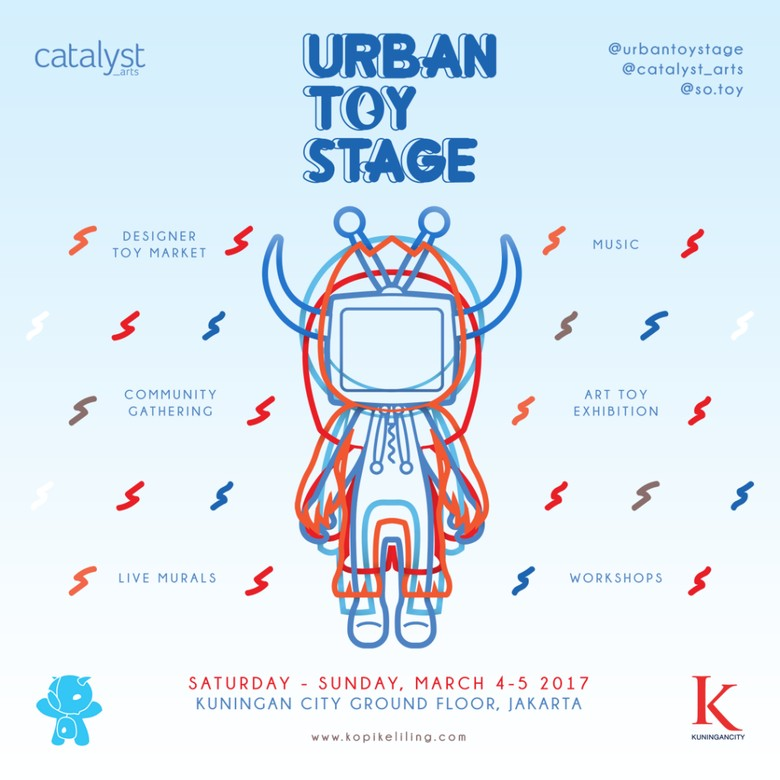 Urban Toy Stage Digelar 4-5 Maret