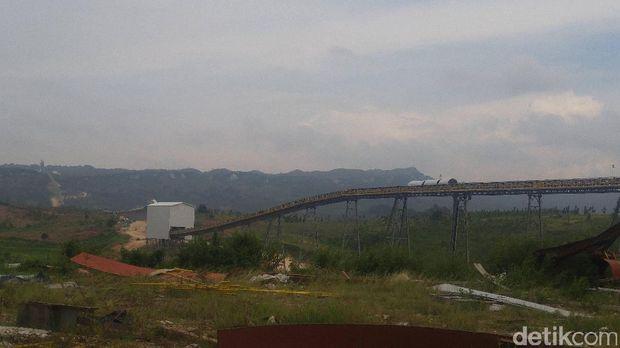 Salah satu mesin di pabrik PT Semen Indonesia
