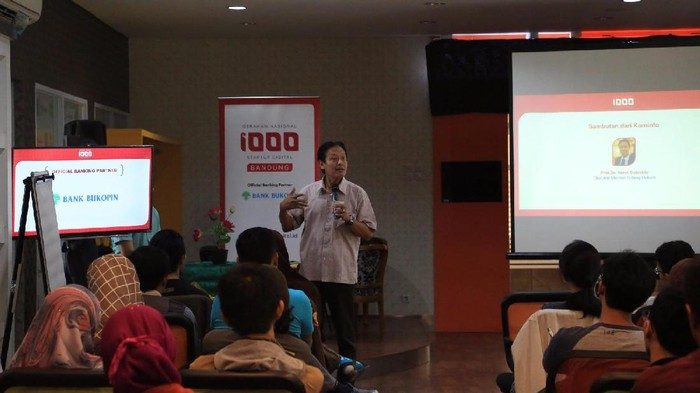 Workshop Gerakan Nasional 1.000 Startup Digital di Bandung