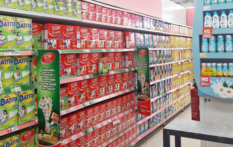 Beli Susu Gratis Popok Sekali Pakai di Transmart dan Carrefour