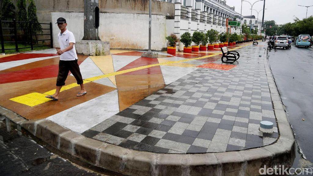 Potret Trotoar Cantik di Jakarta