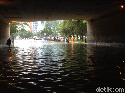 Banjir di Dekat Tol Becakayu Karena Pompa Tak Berfungsi
