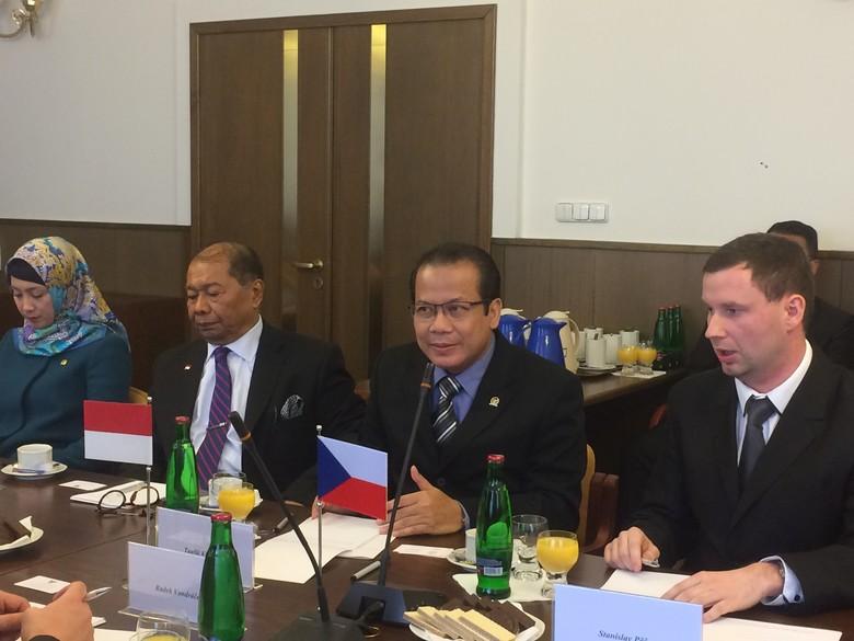Bertemu Parlemen Ceko, DPR Bahas Kerja Sama Ekonomi dan Teknologi