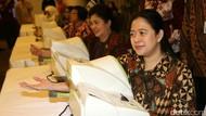 Puan dan Sejumlah Menteri Jajal Alat Pengukur Tekanan Darah