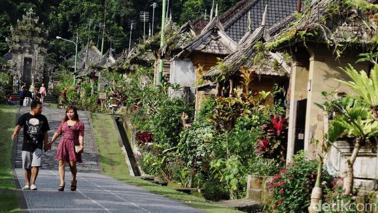 Desa Penglipuran, salah satu desa wisata di Bali (Dikhy Sasra/detikFoto)