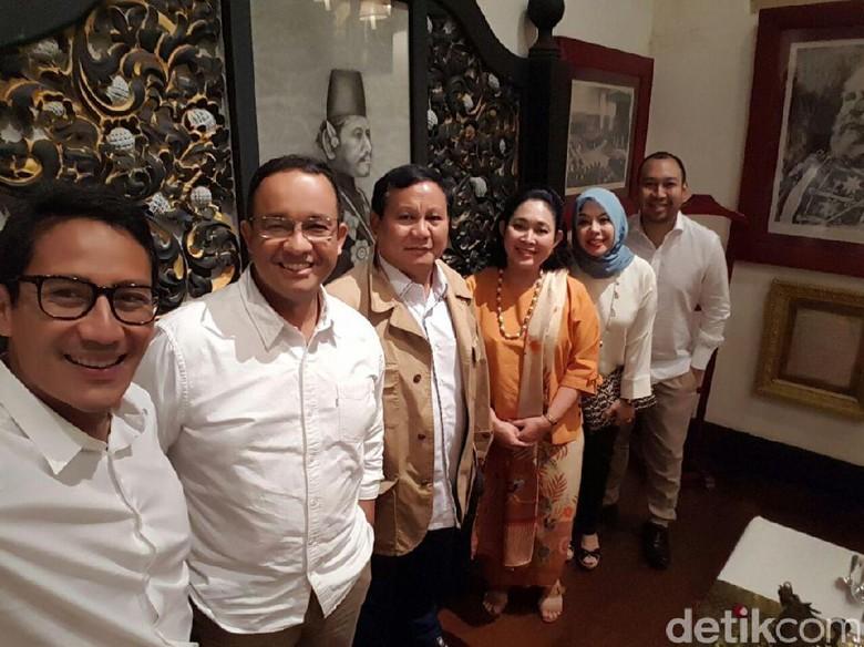 Pulang dari Jepang, Sandiaga Langsung Temui Prabowo dan Anies