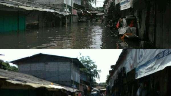 Banjir Surut, Denyut Pasar Buncit Kembali Normal