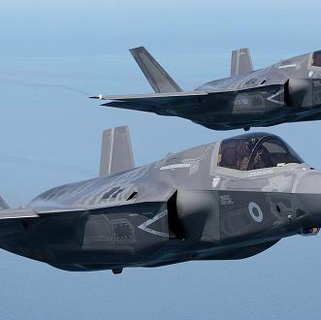Aksi Jet Tempur AS yang Disebut Trump Tak Terlihat