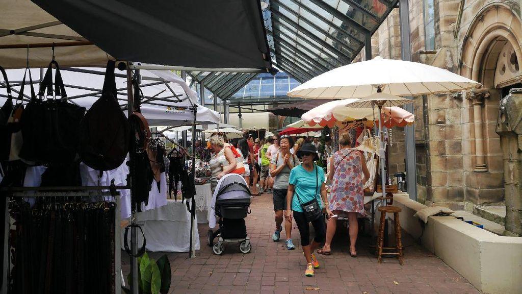 Pasar Seni Ala Australia, Seperti Ini Penampakannya