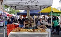 Kedai roti The Grumpy Baker di Paddington Market (Wahyu/detikTravel)
