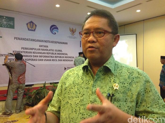 Menkominfo Rudiantara (Foto: detikINET/Agus Tri Haryanto)