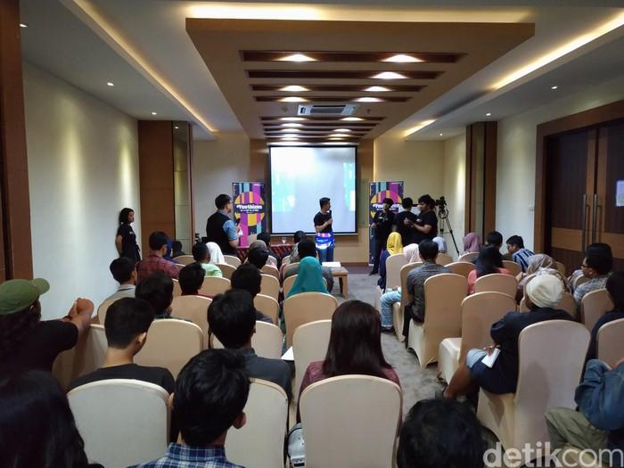 Suasana acara dYouthizen (Foto: detikINET/Fino Yurio Kristo)