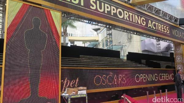 Jalanan Ditutup Sejak Pekan Lalu untuk Persiapan Oscar 2017