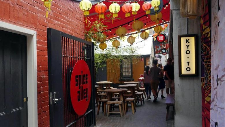 Spice Alley, destinasi wisata kuliner Asia di Sydney (Wahyu/detikTravel)
