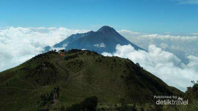 Foto: Gunung Merbabu (Megantoro/dTraveler)