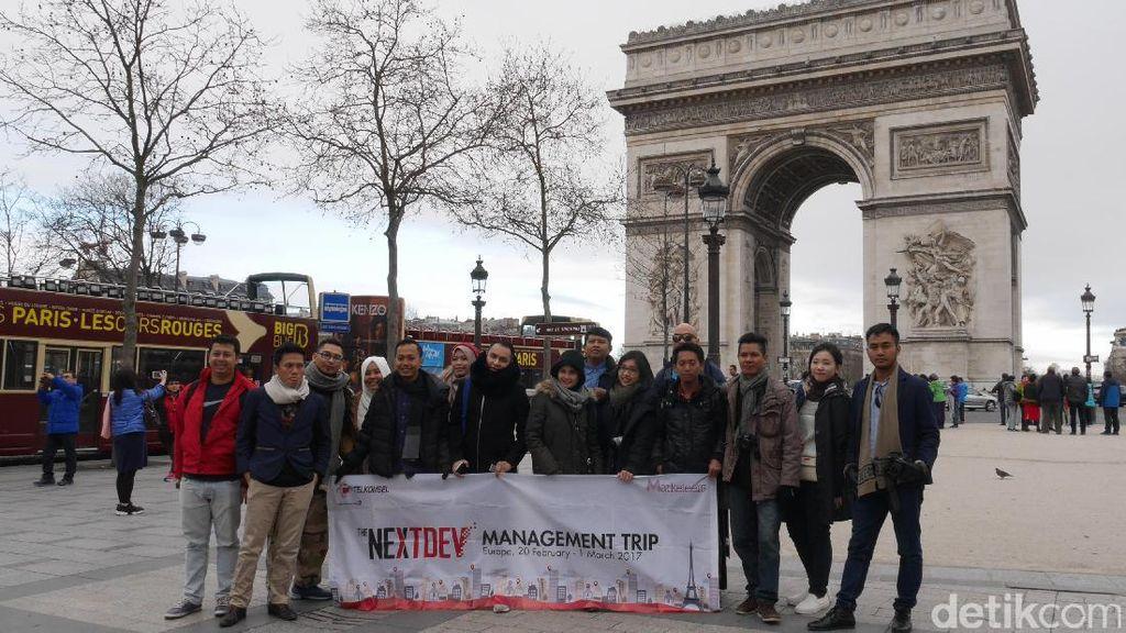 Telkomsel Boyong Jawara NextDev Keliling Eropa