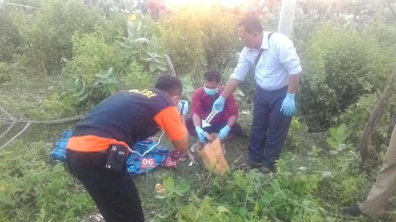 Wanita Muda Ditemukan Tewas di Semak-semak di Lombok
